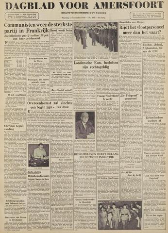 Dagblad voor Amersfoort 1946-11-11