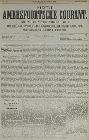 Nieuwe Amersfoortsche Courant 1883-11-14