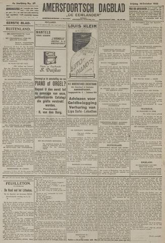 Amersfoortsch Dagblad / De Eemlander 1925-10-16