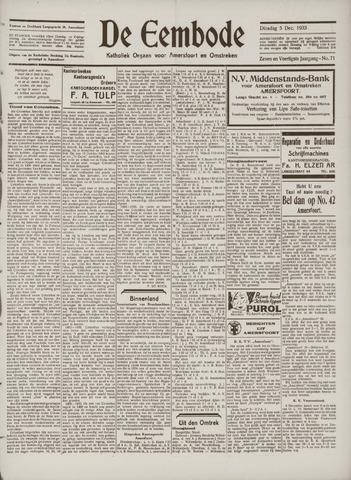 De Eembode 1933-12-05