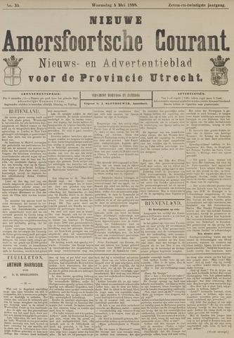 Nieuwe Amersfoortsche Courant 1898-05-04