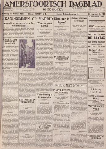 Amersfoortsch Dagblad / De Eemlander 1936-11-18