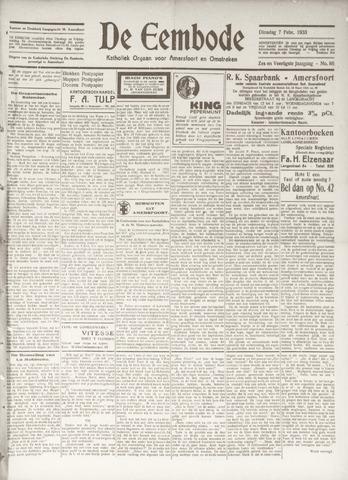 De Eembode 1933-02-07