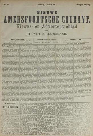 Nieuwe Amersfoortsche Courant 1891-10-17