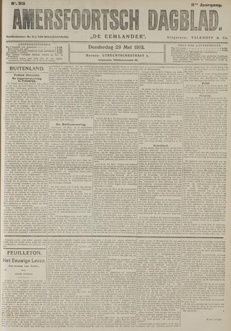 Amersfoortsch Dagblad / De Eemlander 1913-05-29