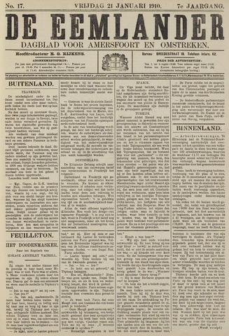 De Eemlander 1910-01-21
