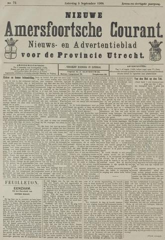 Nieuwe Amersfoortsche Courant 1908-09-05