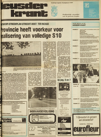 Leusder Krant 1977-08-04