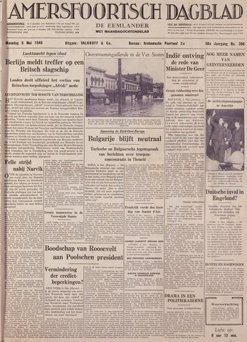 Amersfoortsch Dagblad / De Eemlander 1940-05-06