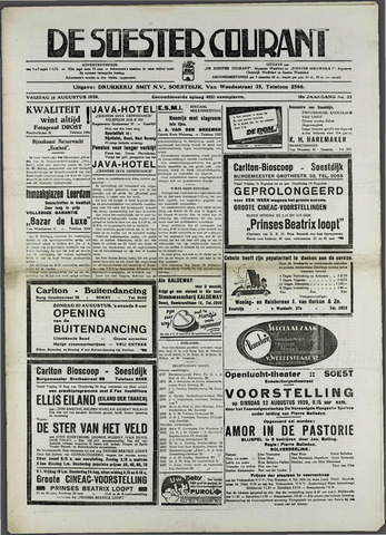 Soester Courant 1939-08-18