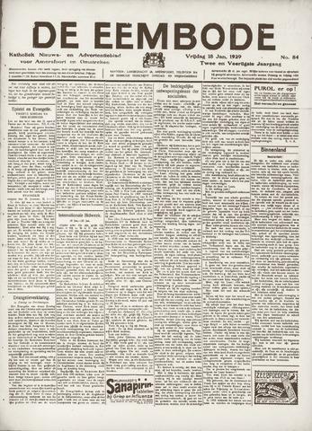 De Eembode 1929-01-18