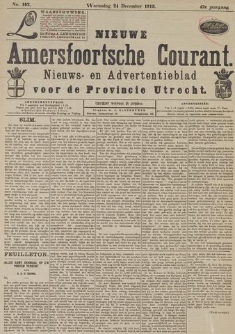 Nieuwe Amersfoortsche Courant 1913-12-24