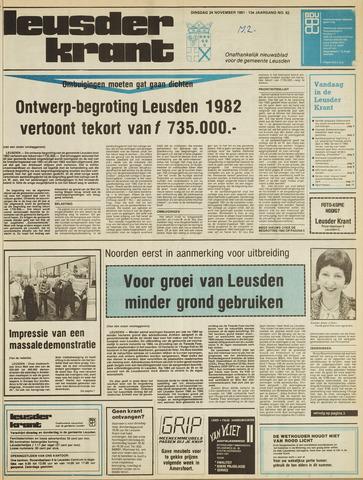 Leusder Krant 1981-11-24