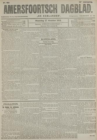 Amersfoortsch Dagblad / De Eemlander 1913-10-27