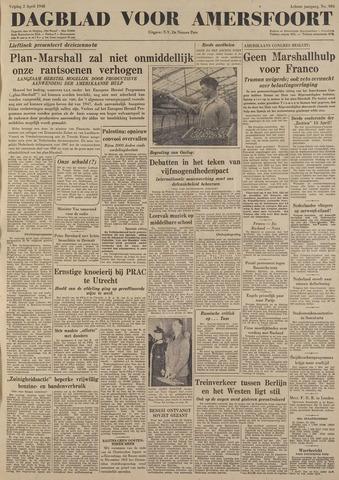 Dagblad voor Amersfoort 1948-04-02
