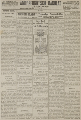 Amersfoortsch Dagblad / De Eemlander 1926-06-12