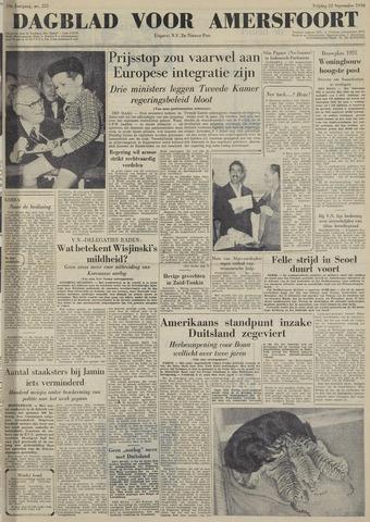 Dagblad voor Amersfoort 1950-09-22