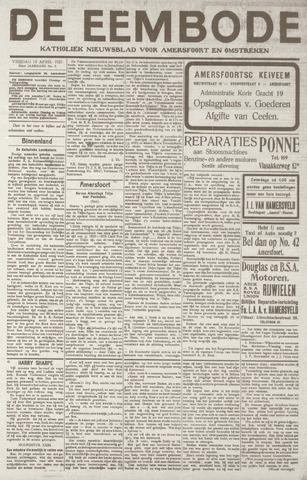 De Eembode 1921-04-15