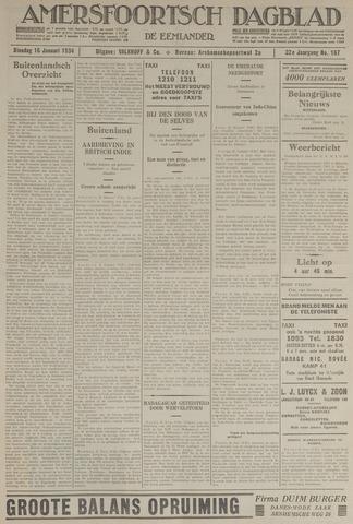 Amersfoortsch Dagblad / De Eemlander 1934-01-16