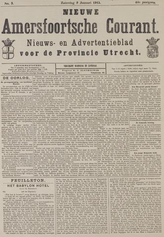 Nieuwe Amersfoortsche Courant 1915-01-09