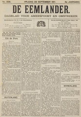 De Eemlander 1911-09-29