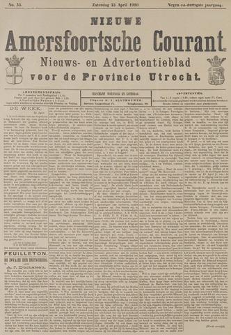 Nieuwe Amersfoortsche Courant 1910-04-23