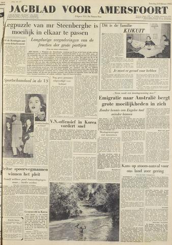 Dagblad voor Amersfoort 1951-02-24
