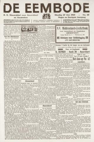 De Eembode 1925-10-27