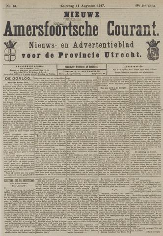 Nieuwe Amersfoortsche Courant 1917-08-11