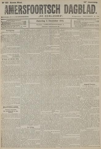 Amersfoortsch Dagblad / De Eemlander 1915-12-04
