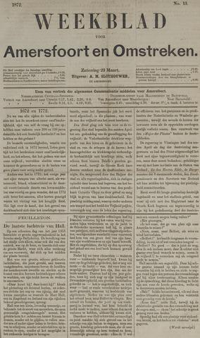 Weekblad voor Amersfoort en Omstreken 1872-03-23