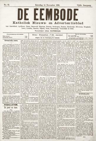 De Eembode 1891-11-14