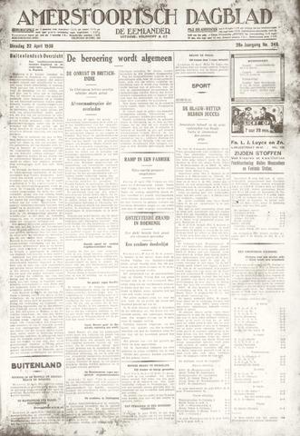 Amersfoortsch Dagblad / De Eemlander 1930-04-22