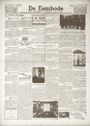 De Eembode 1938-02-25