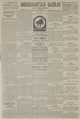 Amersfoortsch Dagblad / De Eemlander 1925-09-02