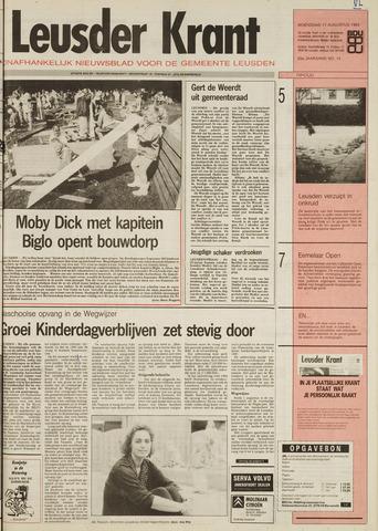 Leusder Krant 1993-08-11