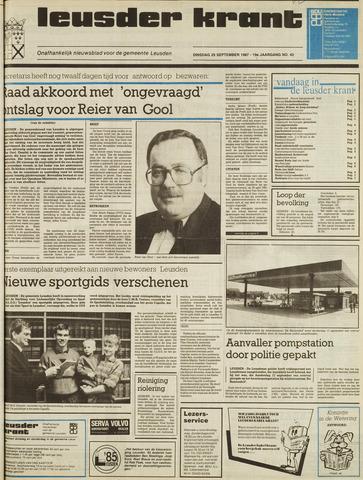 Leusder Krant 1987-09-29