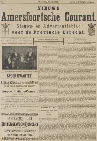Nieuwe Amersfoortsche Courant 1898-07-20
