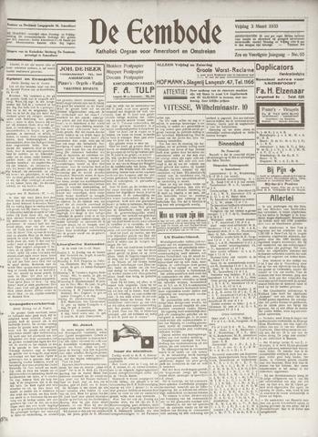 De Eembode 1933-03-03