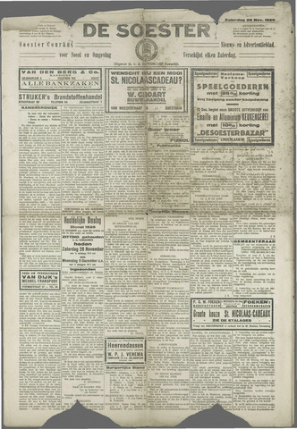 Soester Courant 1925-11-28