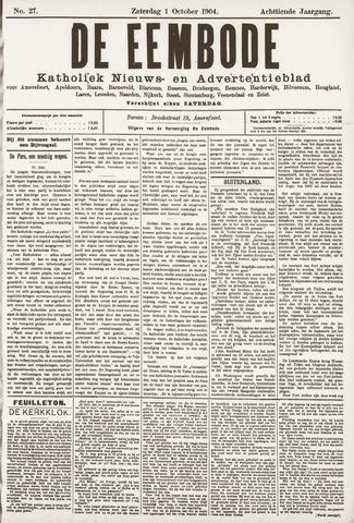 De Eembode 1904-10-01