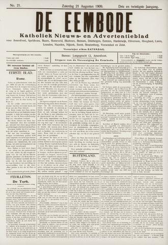 De Eembode 1909-08-21
