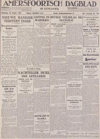 Amersfoortsch Dagblad / De Eemlander 1937-10-28