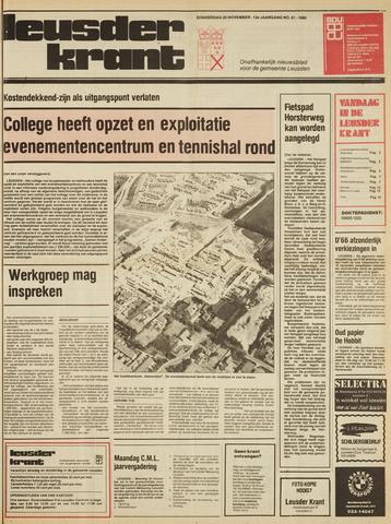 Leusder Krant 1980-11-20