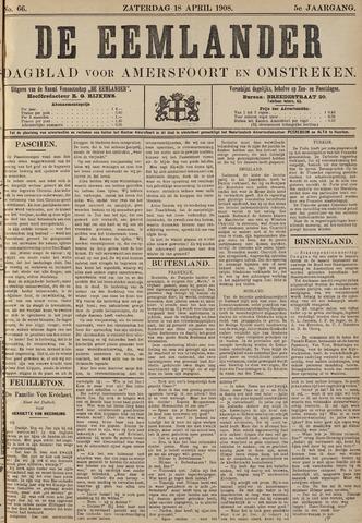 De Eemlander 1908-04-18