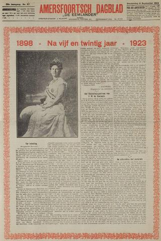 Amersfoortsch Dagblad / De Eemlander 1923-09-06