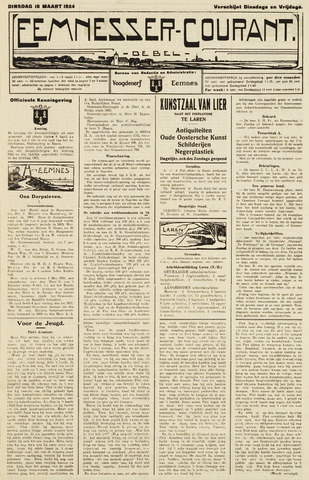 Eemnesser Courant 1924-03-18