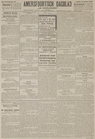 Amersfoortsch Dagblad / De Eemlander 1926-02-12