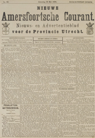 Nieuwe Amersfoortsche Courant 1898-05-28