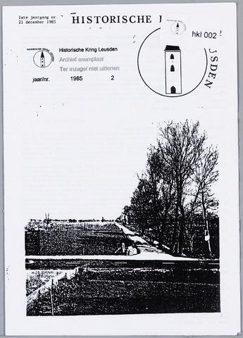 Historische Kring Leusden 1985-12-21